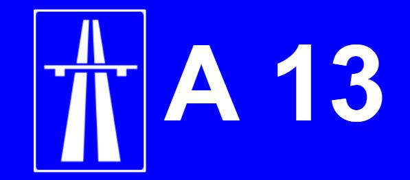 A13 auto estrada