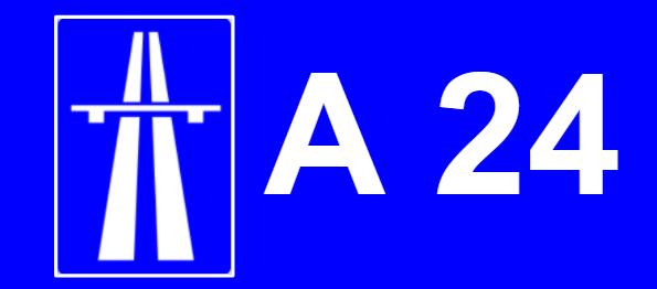 A24 auto estrada