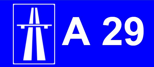 A 29 auto estrada